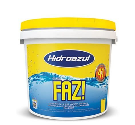 Cloro Faz Balde 2,5KG Hidroazul
