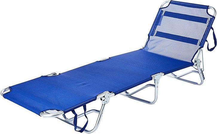 Cadeira espreguiçadeira Textilene Belfix