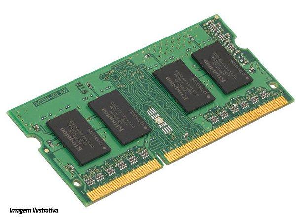 MEMORIA NOTEBOOK DDR3 PROPRIETÁRIA MEMORIA KCP313SS8-4 4GB DDR3 1333MHZ SODIMM SINGLE RANK