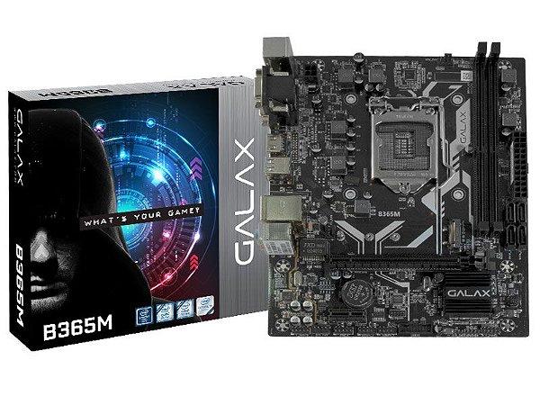 PLACA MÃE DESKTOP LGA 1151 INTEL PLACA MÃE IB365MAGCHJ1CW B365M MATX DDR4 2666MHZ VGA DVI HDMI 9TH GER