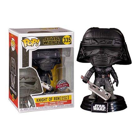 Boneco Funko Pop Star Wars - Knight of Ren Heavy Blade 335