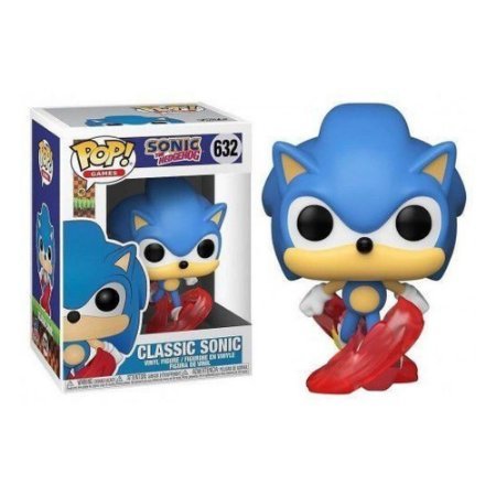 Boneco Funko Pop  Sonic The Hedgehog - Classic Sonic 632