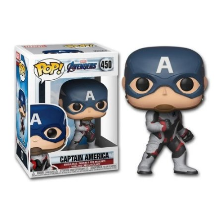 Boneco Funko Pop The Avengers 4 - Captain America 450