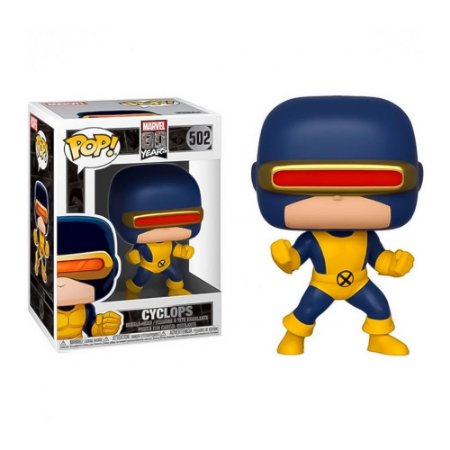 Boneco Funko Pop Marvel 80 Years Cyclops 502