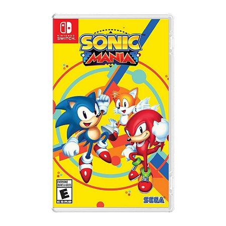 Jogo Sonic Mania - Nintendo Switch