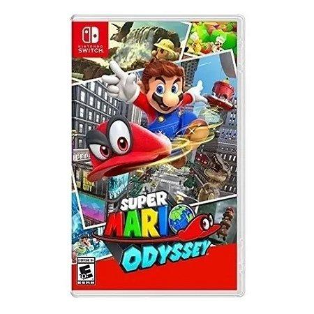 Jogo Super Mario Odyssey - Nintendo Switch