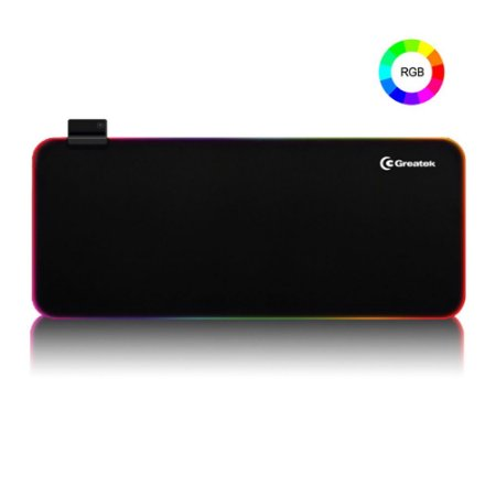 Mouse Pad Gamer RGB grande 80x30 cm Greatek