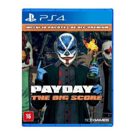 Payday 2 Pay Day The Big Score - Ps4 (semi-novo)