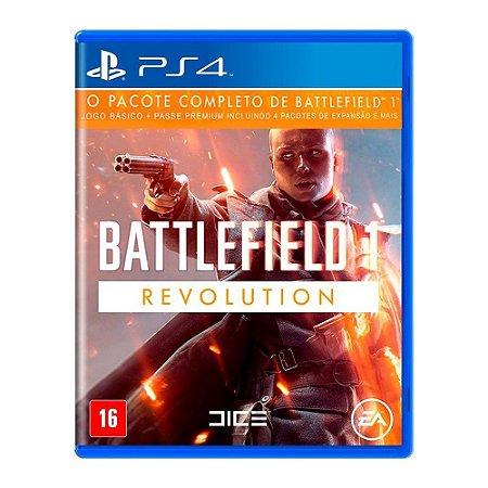Jogo Battlefield 1 Revolution - Pacote Premium Ps4