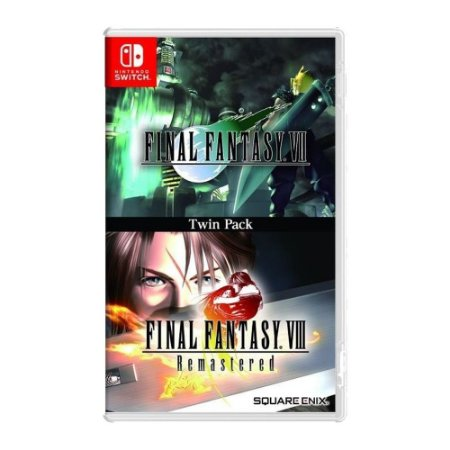 Final Fantasy Vii & Viii Remastered Pack - Nintendo Switch
