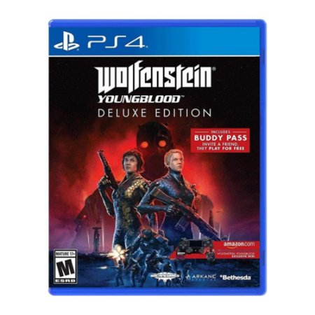 Jogo Wolfenstein Youngblood Deluxe Edition - PS4