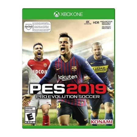 Jogo Pes 2019: Pro Evolution Soccer -  Xbox One