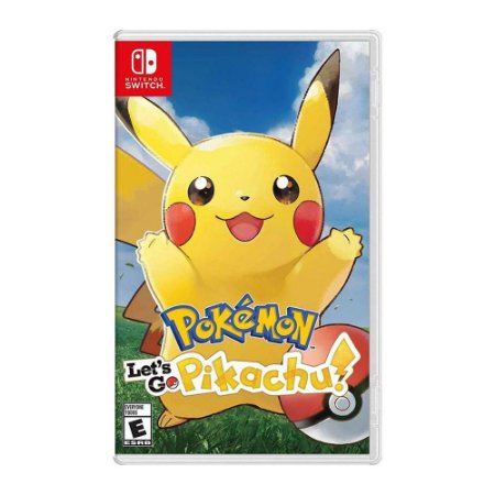 Jogo Pokemon: Lets Go Pikachu - Nintendo Switch