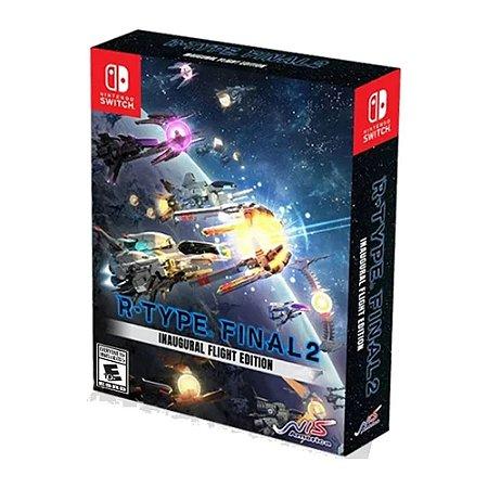Jogo R-Type Final 2 Inaugural Flight Edition Nintendo Switch
