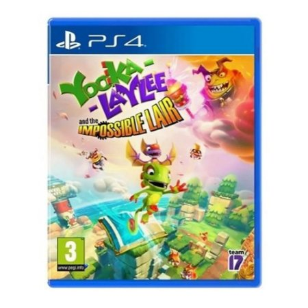 Jogo Yooka - Laylee And The Impossible Lair - Ps4