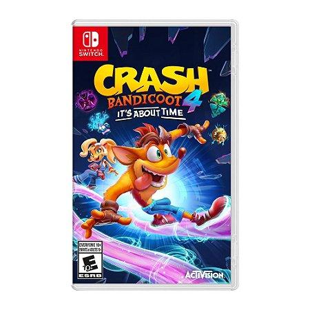 Jogo Crash Bandicoot 4: Its About Time - Nintendo Switch