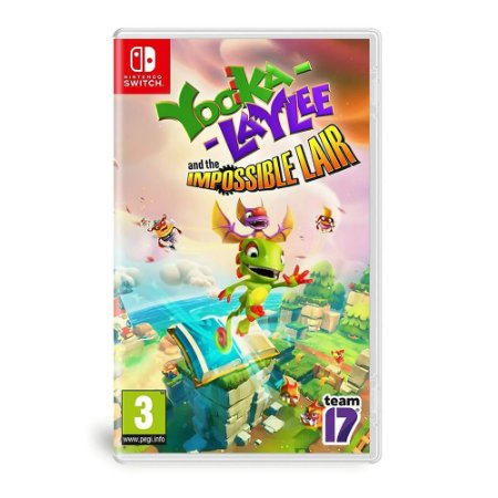 Jogo Yooka-laylee And The Impossible Lair - Nintendo Switch