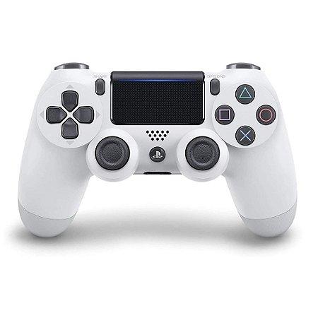 Controle Sem Fio Dualshock 4 Sony Branco Glacial - PS4