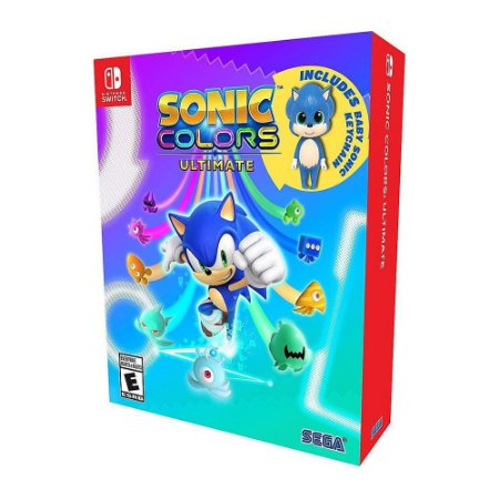 Jogo Sonic Colours Ultimate Launch Edition - Nintendo Switch