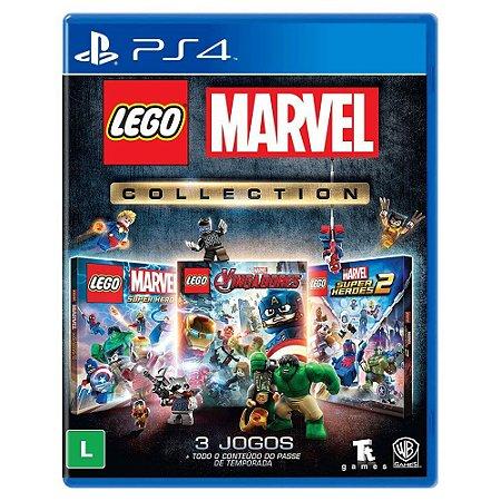 Lego Marvel Collection - PS4 (seminovo)