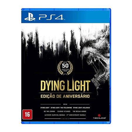 Jogo Dying Light Edição de Aniversário Ps4