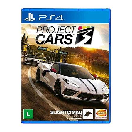 Jogo Project Cars 3 PS4