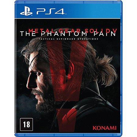 Jogo Metal Gear Solid V The Phantom Pain PS4