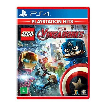 Jogo Lego Marvel Avengers Vingadores Ps4