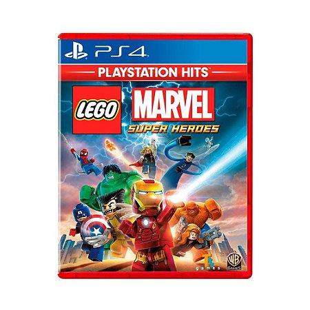 Jogo Lego Marvel - Super Heroes - Ps4