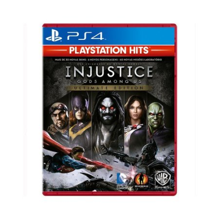 Jogo Injustice Gods Among Us - Ultimate Edition Hits - PS4