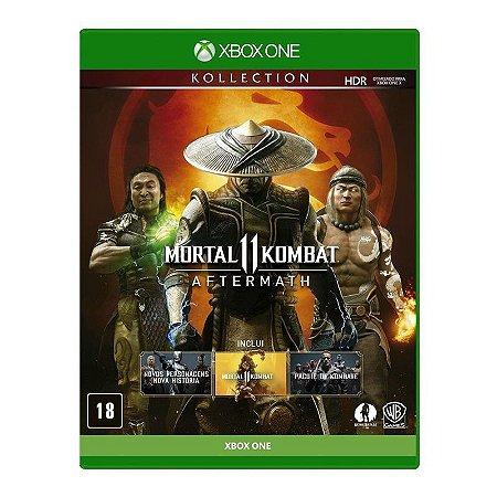 Jogo Mortal Kombat 11: Aftermath Br - Xbox One