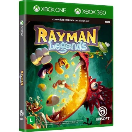 Jogo Rayman Legends Jogo Xbox 360 E Xbox One