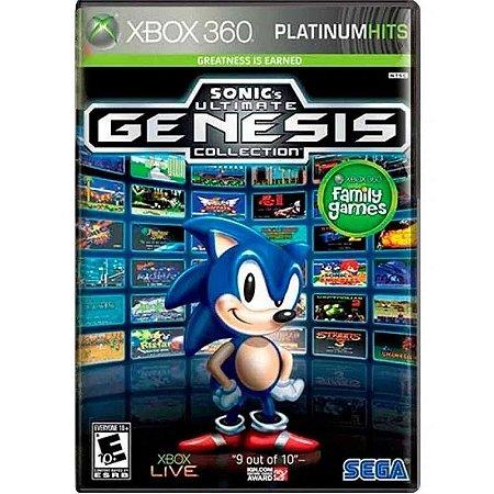 Jogo Sonics Ultimate Genesis Collection Xbox 360