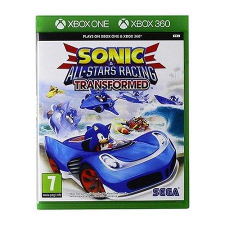 Jogo Sonic & All Star Racing Transformed - Xbox 360 Xbox One