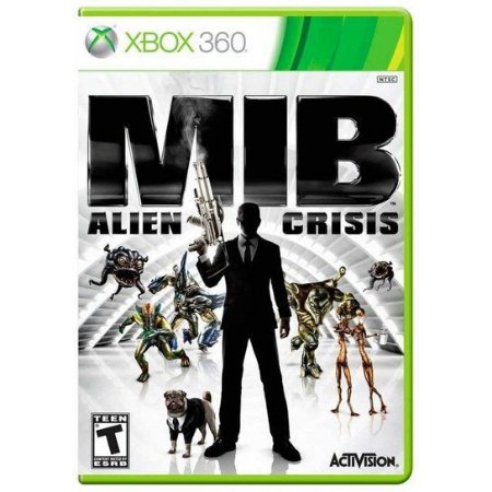 Jogo Mib Alien Crisis - Xbox 360 (Seminovo)
