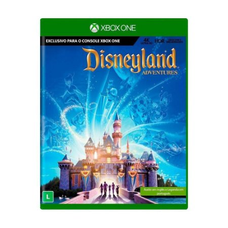 Jogo Kinect Disneyland Adventures - Xbox One