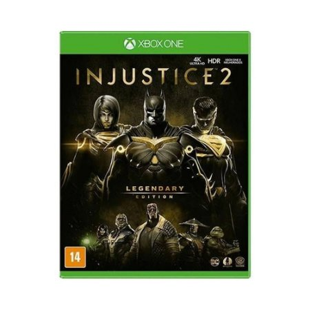 Jogo Injustice 2: Legendary Edition - XBOX ONE
