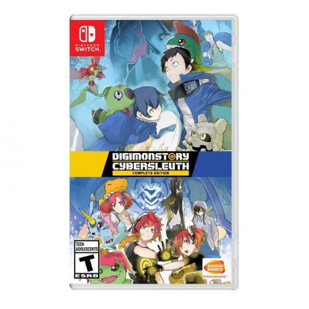 Jogo Digimon Story Cyber Sleuth: Complete Edition - Nintendo Switch