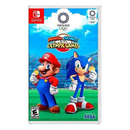 Jogo Mario & Sonic The Olympic Games Tokyo 2020 Nintendo Switch