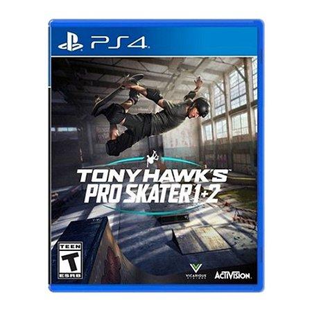 Jogo Tony Hawk's Pro Skater 1 + 2  -Ps4