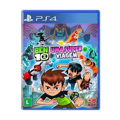 Jogo Ben 10 Uma Super Viagem PS4