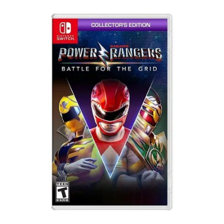 Jogo Power Rangers Battle for the Grid Collectors Edition -Switch