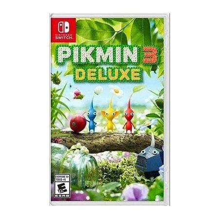 Jogo Pikmin 3 Deluxe - Nintendo Switch
