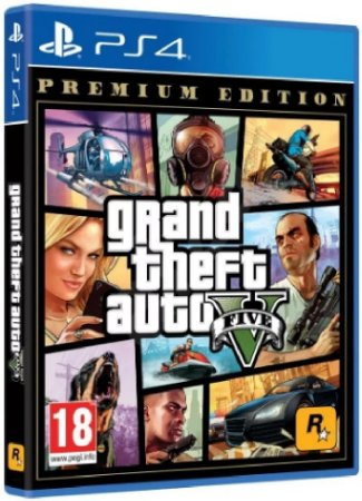 Jogo Grand Theft Auto V  (GTA 5) Premium Edition - PS4