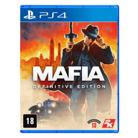 Jogo Mafia - Definitive Edition - PS4