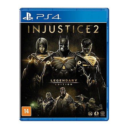 Jogo Injustice 2: Legendary Edition - PS4 (Seminovo)