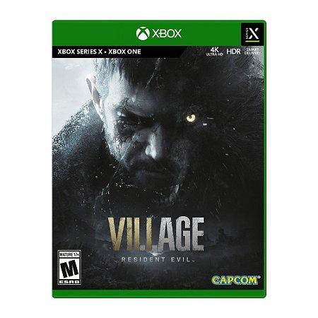 Jogo Resident Evil Village - XBOX ONE/ XBSX  (pré venda)