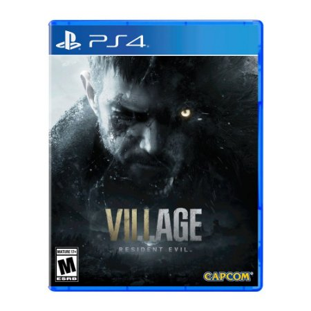 Jogo Resident Evil Village - Ps4 (pré venda)