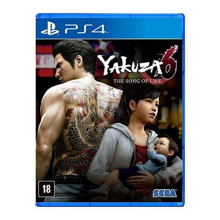 Jogo Yakuza 6: The Song Of Life - PS4