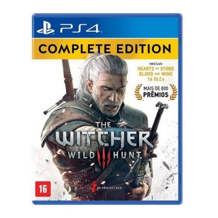 Jogo The Witcher 3 Wild Hunt Complete Edition - Ps4